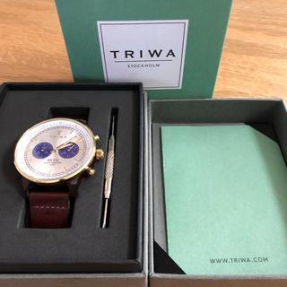 トリワ(TRIWA)のTRIWA nevil 腕時計 べっ甲 鼈甲(腕時計(アナログ))
