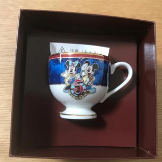 ディズニー(Disney)のディズニー5周年記念 コーヒーカップ(キャラクターグッズ)