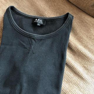 アーペーセー(A.P.C)のアーペーセー リブTシャツ(Tシャツ(半袖/袖なし))