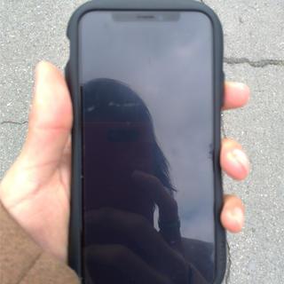 アップル(Apple)の美品 iPhoneX 64GB SiMフリー ドコモ版(スマートフォン本体)