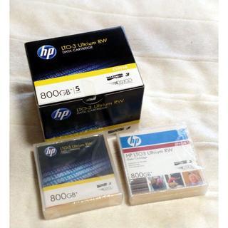 ヒューレットパッカード(HP)のHP LTO-3 Ultrium RW データカートリッジ C7973A 7本(その他)