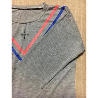 Vライン 7分袖 シャツ(Tシャツ(長袖/七分))