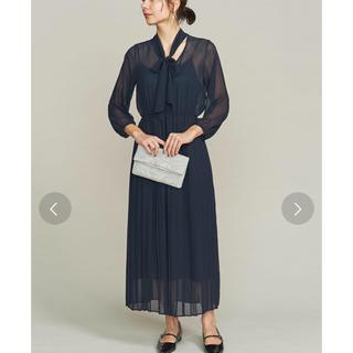 ビューティアンドユースユナイテッドアローズ(BEAUTY&YOUTH UNITED ARROWS)のプリーツドレス(ロングドレス)