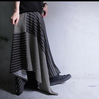 アンティカ(antiqua)のアンティカ♥︎ストライプ ドット 変形スカート(ロングスカート)