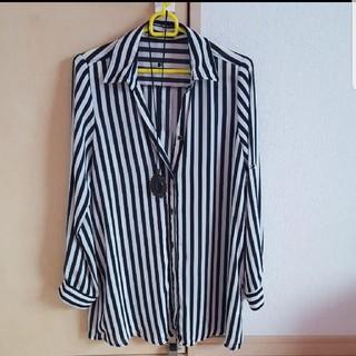 ボーダーのシャツ(Tシャツ(長袖/七分))