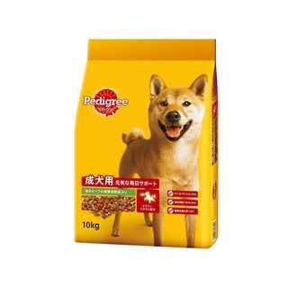 ペディグリー 成犬用 旨みビーフ&緑黄色野菜入り 10kg(犬)