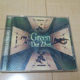#1350 CD green  der zibet(ポップス/ロック(邦楽))