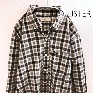 ホリスター(Hollister)の【ホリスター】チェックシャツ長袖 Mサイズ(シャツ)