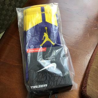 ナイキ(NIKE)の新品未使用ジョーダン Jordan ナイキ Nike バスケットボール靴下 小物(ソックス)