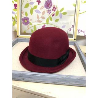 オリーブデオリーブ(OLIVEdesOLIVE)のOLIVE des OLIVE☆ハット 帽子☆ボーラーハット☆オリーブ(ハット)