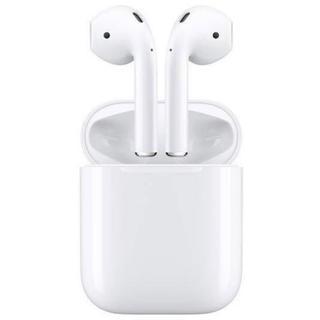 アップル(Apple)の新品*Apple AirPods ワイヤレスイヤホン MMEF2J/A   (ヘッドフォン/イヤフォン)