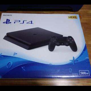 プレイステーション4(PlayStation4)のPS4 CUH-2200AB01 500GB ジェットブラック 極備品(家庭用ゲーム本体)