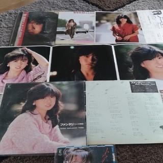 中森明菜LP2枚、EP1枚(ポップス/ロック(邦楽))