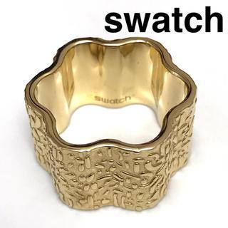スウォッチ(swatch)の【指輪】 swatch スウォッチ リング 12.5号 ゴールド ステンレス(リング(指輪))