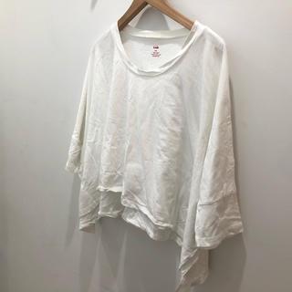 エルエヌエー(LnA)のLNA ケープ Tシャツ(Tシャツ(半袖/袖なし))