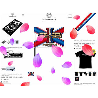 サンダイメジェイソウルブラザーズ(三代目 J Soul Brothers)の三代目 ツアーTシャツ(その他)