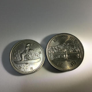 記念硬貨  500円 100円(貨幣)