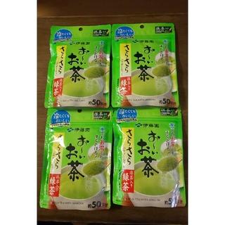 イトウエン(伊藤園)のおーいお茶 さらさらパウダーティー  4袋(茶)