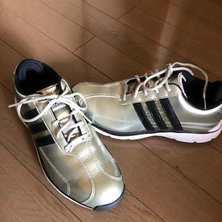 アディダス(adidas)の新品 アディダスゴルフシューズ ナイキケース付(シューズ)