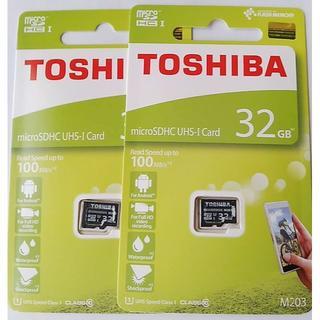 東芝 micro SDカード 32GB 2個セット(その他)