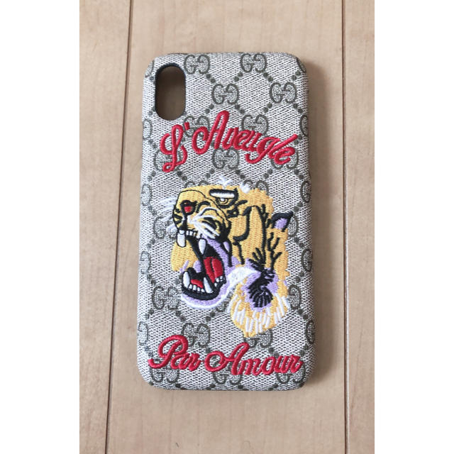 nike アイフォーンxr ケース | GUCCI iPhone Xケースの通販 by ますだそうた's shop|ラクマ