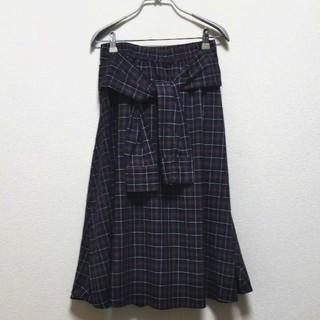 ハニーサックルローズ(HONEYSUCKLE ROSE)の新品 ハニーサックルローズ 膝またスカート(ひざ丈スカート)