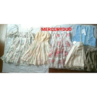 マーキュリーデュオ(MERCURYDUO)のマーキュリーデュオ まとめ売り(ミニワンピース)