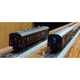 カトー(KATO`)のKATO 43系・茶 客車 11両編成 全車室内灯付(鉄道模型)