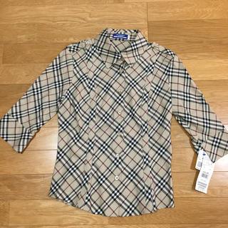 バーバリー チェックシャツ 女性Mサイズ
