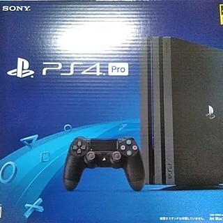 PlayStation4 - PS4 pro 2TB ジェットブラック 新品未開封