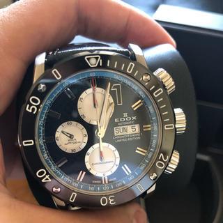 エドックス(EDOX)のエドックス 限定 完備品(腕時計(アナログ))
