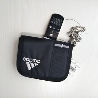 アディダス(adidas)のアディダス ウォレット ブラック 新品(折り財布)