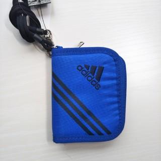 アディダス(adidas)のアディダス ウォレット ブルー 新品(折り財布)