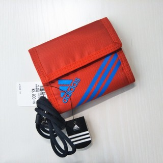 アディダス(adidas)のアディダス ウォレット カレッジレッド 新品(折り財布)