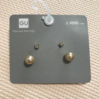 GU - GU バックパールピアス 新品未使用