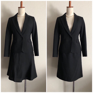 エニィスィス(anySiS)のスーツ 11号 3点セット 入学式 卒業式 ママ スーツ ブラックフォーマル(スーツ)