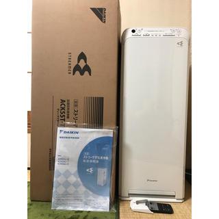 ダイキン(DAIKIN)の2016年製 ダイキン 加湿 空気清浄機 MCK55T-W リモコン ホワイト(空気清浄器)