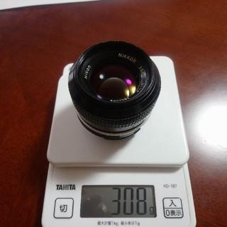 ニコン(Nikon)のNikon NIKKOR 50mm 1:1.4 レンズ(レンズ(単焦点))