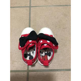 ディズニー(Disney)のスニーカー 13㎝ ベビー キッズ 靴 Disney ミニー ディズニー(スニーカー)