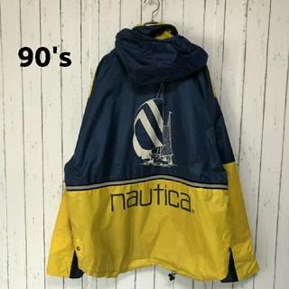 ノーティカ(NAUTICA)の希少 ノーティカ セーリング ジャケット 90's(ナイロンジャケット)