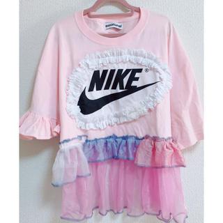 ウォール(WALL)の【美品】amatunal NIKE リメイク Tシャツ 1点物(Tシャツ(半袖/袖なし))