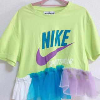 ウォール(WALL)の【美品】amatunal NIKE Tシャツ リメイク 1点物(Tシャツ(半袖/袖なし))