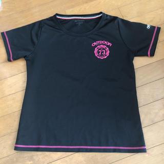 アウトドアプロダクツ(OUTDOOR PRODUCTS)のレディース    サイズLL  OVTDOOR  半袖Tシャツ(Tシャツ(半袖/袖なし))