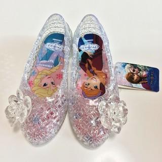 ディズニー(Disney)の新品! アナ雪 ジュエルサンダル 15㎝(サンダル)