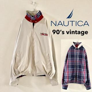 ノーティカ(NAUTICA)の90's オールド■ ノーティカ NAUTICA チンストラップ スィングトップ(ブルゾン)