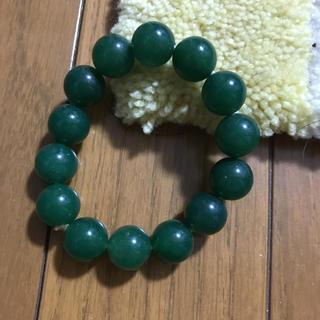 緑玉ブレスレット(ブレスレット/バングル)