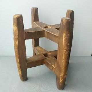 木製 糸巻き 古道具 アンティーク
