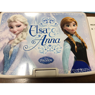 ディズニー(Disney)のアナと雪の女王 9インチポータブル DVDプレーヤー 車搭載可能(DVDプレーヤー)