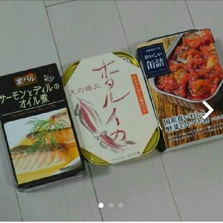 魚介缶詰 ホタルイカ 明治屋 真いわし 家バル サーモン(缶詰/瓶詰)