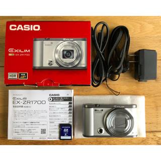 カシオ(CASIO)のデジカメ CASIO EX-ZR1700(コンパクトデジタルカメラ)